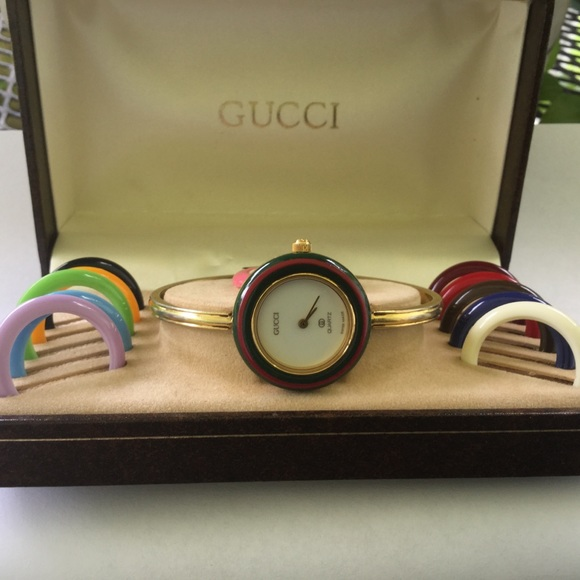 f7cf4c1c955 Gucci Accessories - Gucci Vintage Watch With interchangeable Bezels